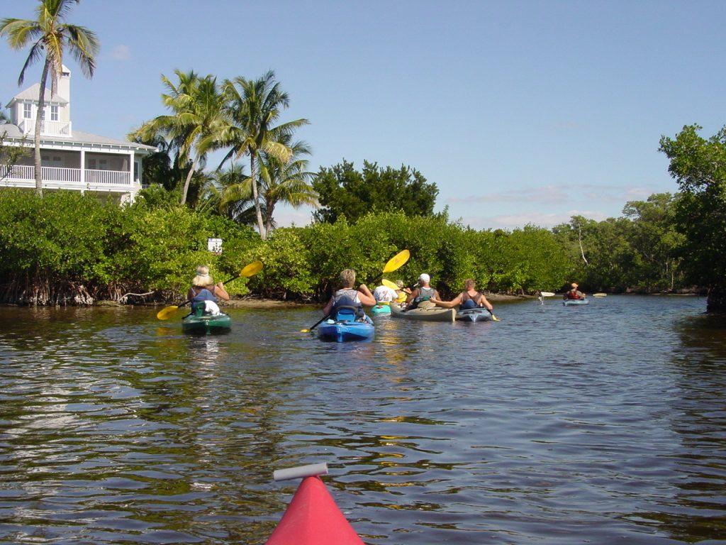 Kayaking, on the Intracoastal