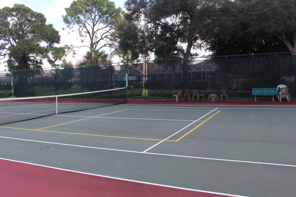 Tennis & pickleball court