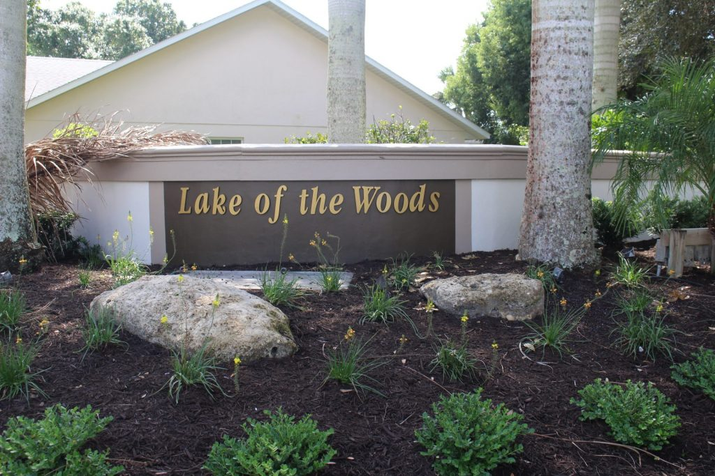 Lake of the Woods monument